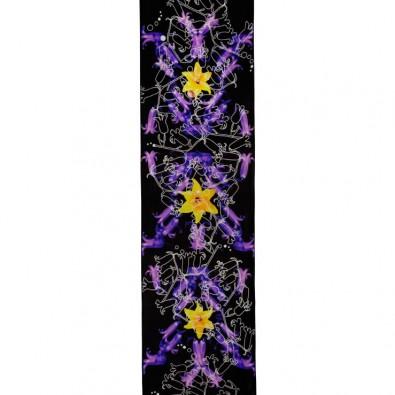 Designer Silk Scarves; Hyper Bluebells
