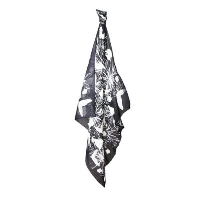 ButtnBee Luxury Silk Scarf; Invert
